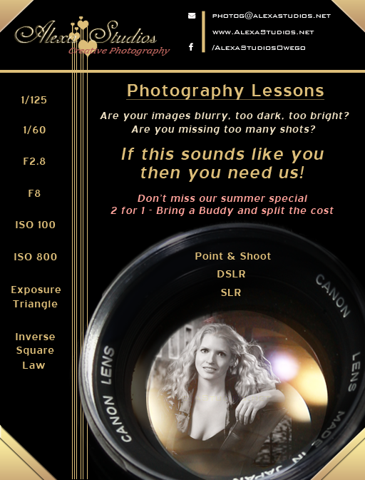 Photography Lessons Summer Special