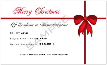 AlexaStudios Gift Certificate